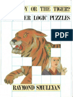 The Lady of the Tiger and Other Logic Puzzles - Smullyan