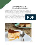 RECETA DE QUESILLO VENEZOLANO TRADICIONAL.docx