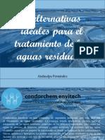 3 Alternativas Ideales Para El Tratamiento de Las Aguas Residuales