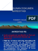 Penyusunan Dokumen Akrd 2013