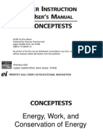 CT Energy Work Conservation of Energy
