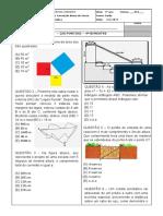 PROVA (9 Ano (901) Matematica) 4 BIMESTRE Onesima 2017