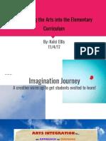 arts advocacy presentation