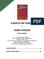 Thomas Mann - A Morte Em Veneza e Tonio Kroger