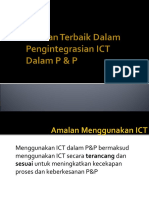 Amalan Terbaik Dalam Pengintegrasian ICT Dalam Pengajaran dan Pembelajaran