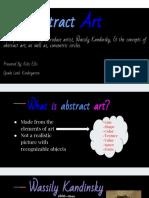 visual art slides kellis