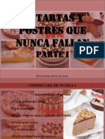Rosa Gisela Olivis de Gray  - 12 Postres Que Nunca Fallan, Parte I