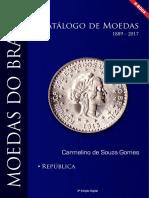 CATÁLOGO MOEDAS 2017