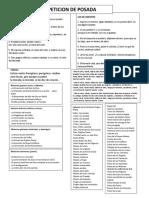 Peticion de Posada 2013