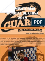 Jorge Hernández Fernández - Eliminatorias Mundial de China 2019