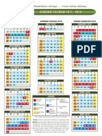 2017 2018 Academic Calendar