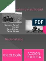 Nacionalismo y Etnicidad