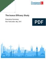 busuu Efficacy Study + White Paper