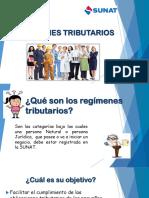 regimenes tributarios comunicacion