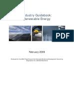Renewable Energy Industry Guidebook