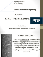 Lecture 1 Coal Types 2BW