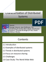 w2 1 Characterization of Distributed Systems
