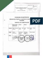 Programa Mantencion IMPLEMENTADA EQ 2.1.