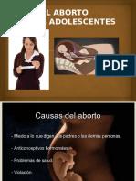 El Aborto en Adolescentes (Ayari, Jose, Axcel)