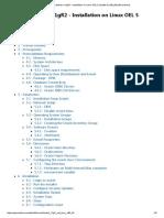 Installation on Linux OEL 5 Update 5 (x86_64) [Gerardnico]