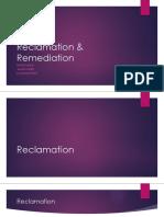 Reclamation & Remediation
