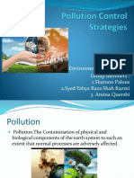 Pollution Control Strategies