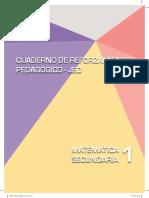 Matemática 1 Cuaderno de Reforzamiento Pedagógico JEC
