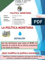 Política Monetaria Ppt