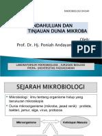 Materi 1 Dan 2 Pa-mikrobiologi Dasar