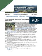Pa Environment Digest Dec. 18, 2017