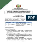 CDO 420 Mario Estensoro Tarija