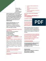 Cuestionario De Derecho Agrario y Ambiental