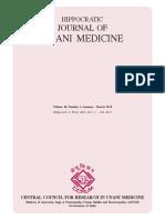 Hippocratic Jan–Mar 2015 Journal of Unani Medicine Volume 10 1 Jan–Mar 2015