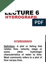 Lec 5 Hydrograph