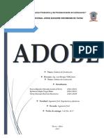 Adobe - Resumen