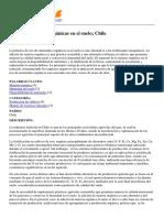 TECA - Uso de Enmiendas Orgánicas en El Suelo; Chile - 2014-08-11