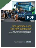 Transportation & the New Generation VUS