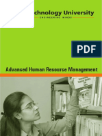 Advanced Human Resource Management Rai University