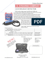 d.e. Stearns Model 14-20 Redesigned Holiday Detector