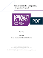 K-beauty Expo 2017_cooperation Proposal
