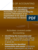 Meaning of Accounting