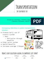 public transportation bio 11h