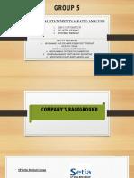 Presentation Finance