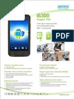 Urovo i6300 PDA