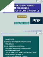 3rd IMT Seminar 1_Tool Materials