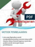 9. Metode Pembelajaran