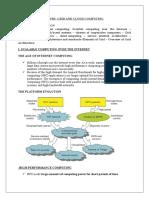 Unit i& Unit II Grid and Cloud(1)