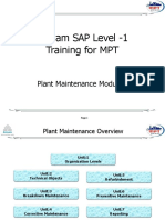 121623314 SAP PM Level 1 Material