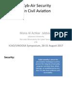 Cyb-Air Security 30 August