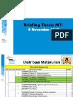 Briefing Thesis MTI Ganjil1718 P2